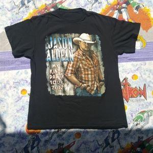 Jason Aldean concert shirt